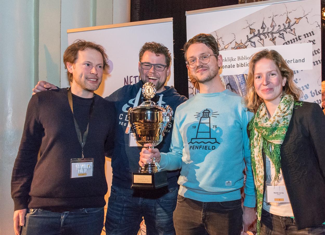 KNAW DH Lab wint HackaLOD 2018