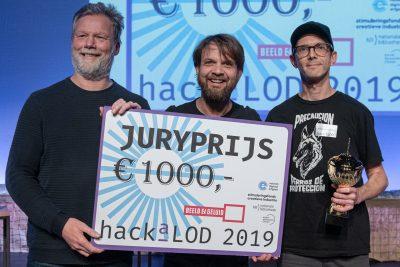 Winnaars HackaLOD 2019